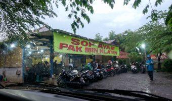 Sop Ayam Pak Min Klaten (Ragil) Bogor