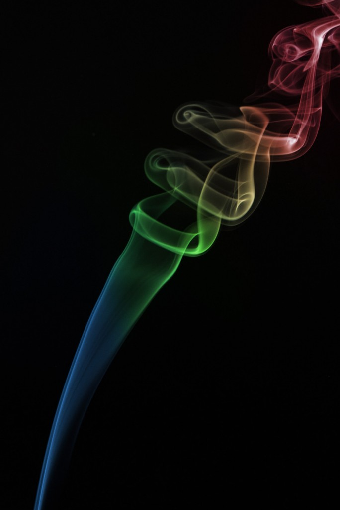 Tutorial Smoke Photography Warna Warni Color