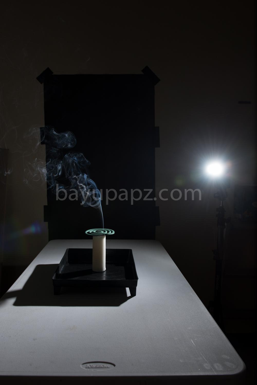 Tutorial Smoke Photography Warna Warni Color setup 3
