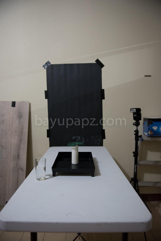 Tutorial Smoke Photography Warna Warni Color setup 2