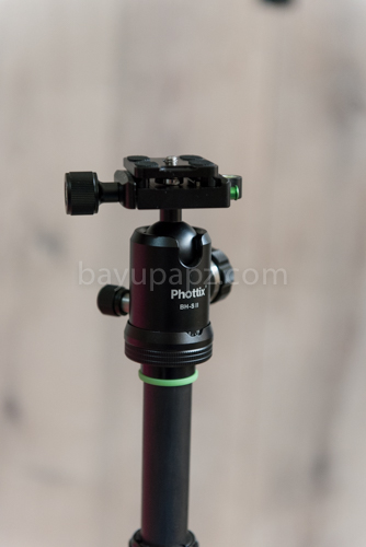 review carbon tripod phottix TA-255C 12