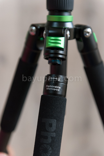 review carbon tripod phottix TA-255C 6