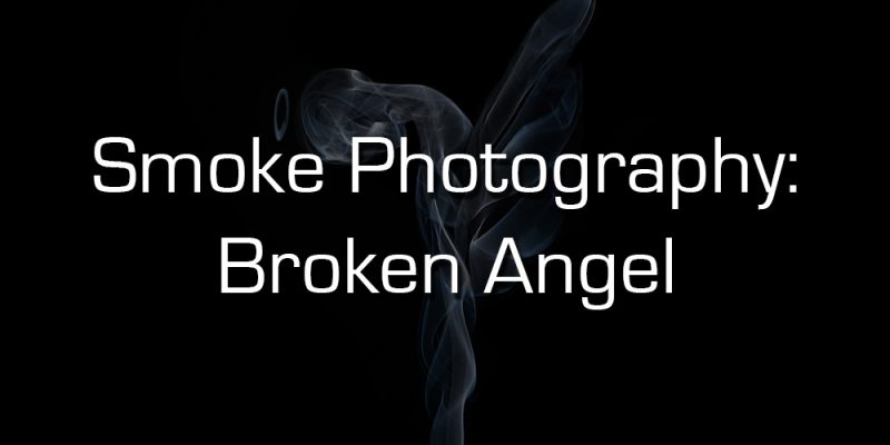 smoke photography broken angel cover