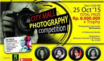 City Mall Photography Competition Plus Photography Coaching (Strobist)