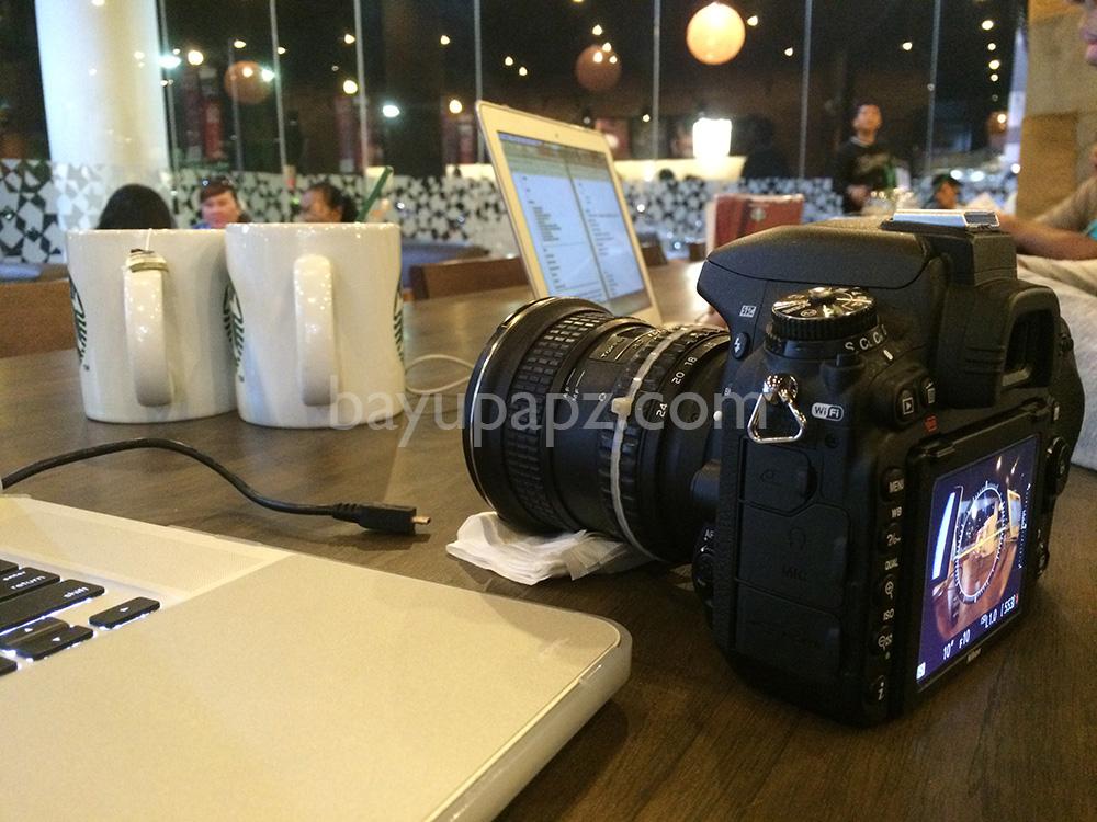 Nikon D750 Fx full frame tokina 12-24 samping