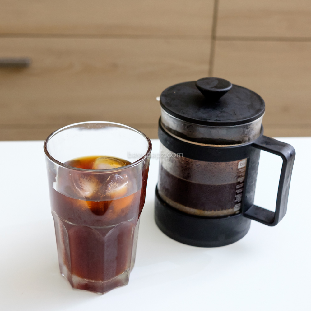 cara membuat cold brew coffee sendiri french press 10