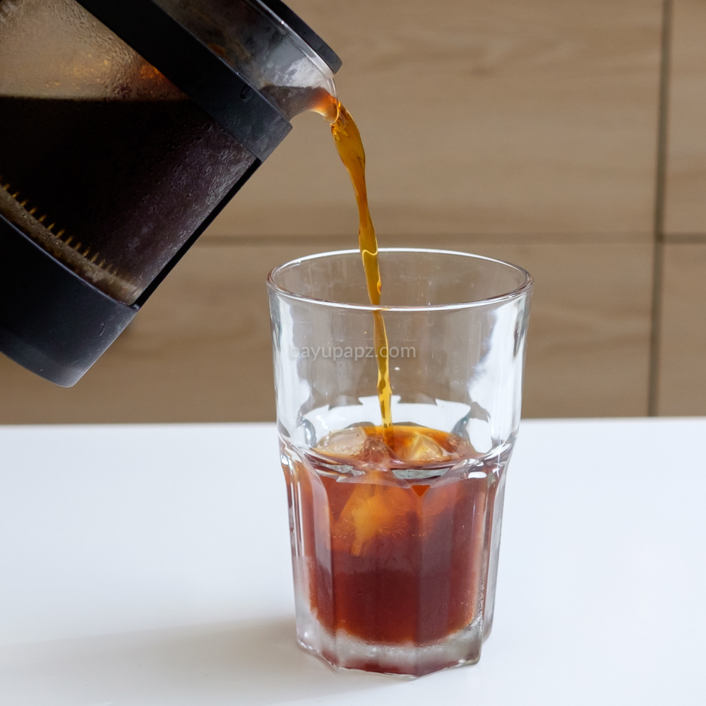 cara membuat cold brew coffee sendiri french press 9