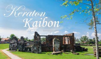 10 Menit di Keraton Kaibon, Serang, Banten