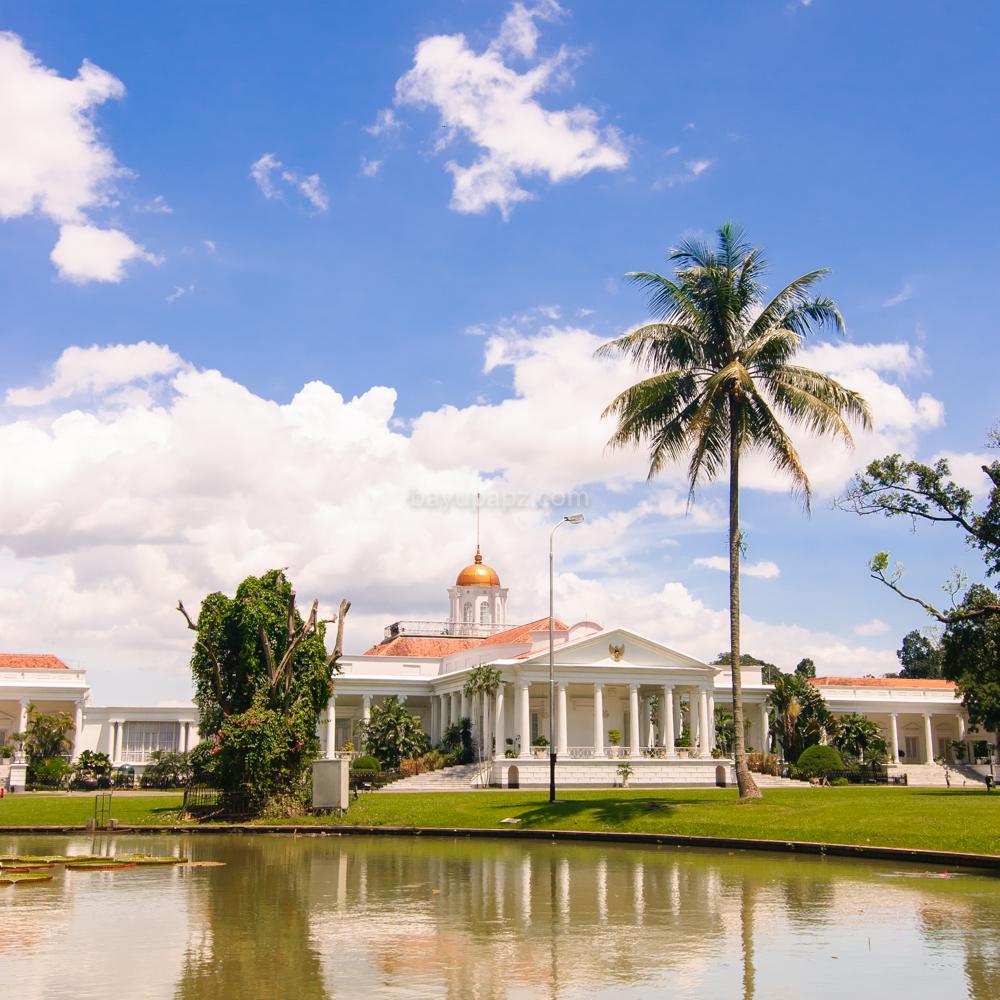 Fotografi Dasar White Balance Istana Bogor Cloudy 6500K