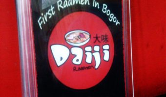 Penampakan Awal Daiji Raamen Di Bogor