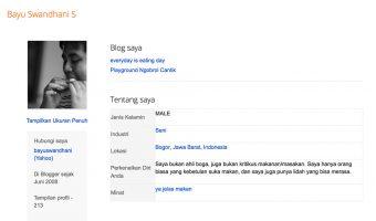 Ngeblog Sejak Tahun 2006