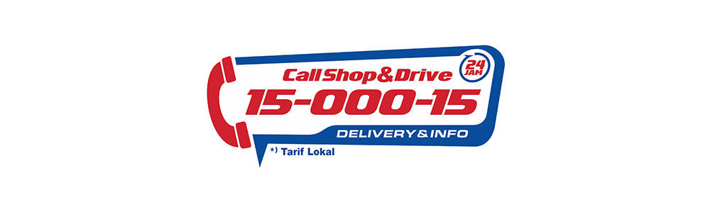shop and drive delivery 24 jam call