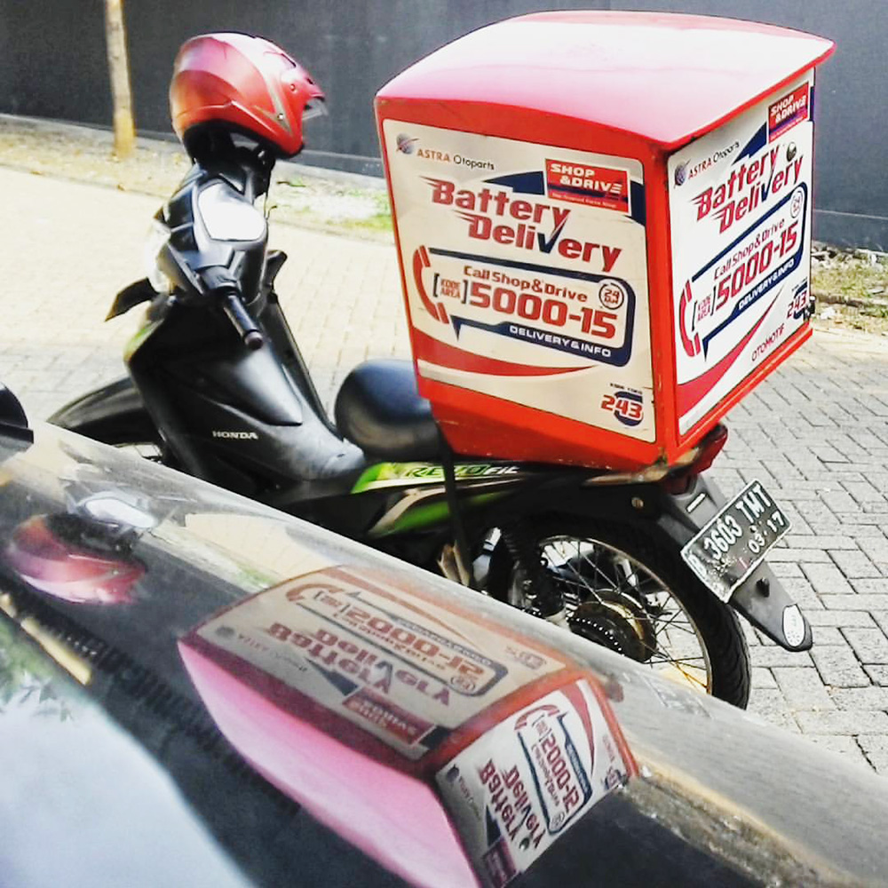 layanan delivery 24 jam shop n drive