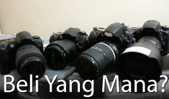 Panduan Membeli Kamera Untuk Pemula