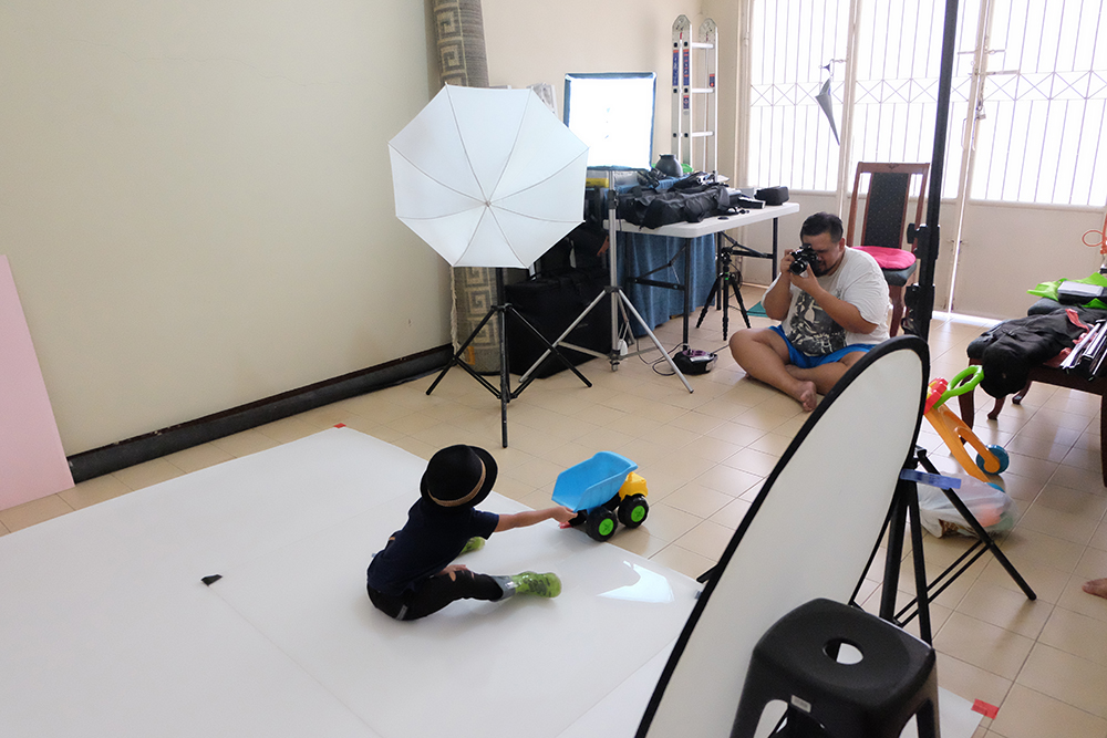 baby photography blush and beryl balita fotografi BTS 1
