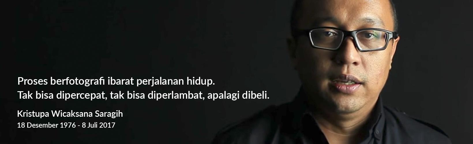 Kristupa saragih RIP meninggal fotografer net 1