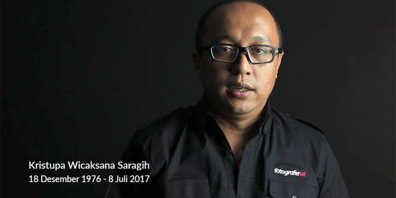 Kristupa saragih RIP meninggal fotografer net 2