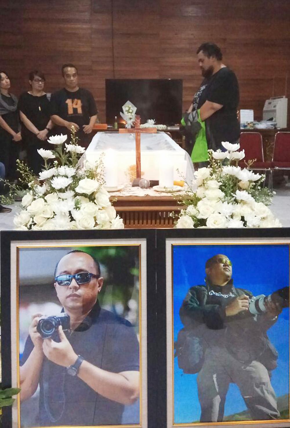 Kristupa saragih RIP meninggal fotografer net