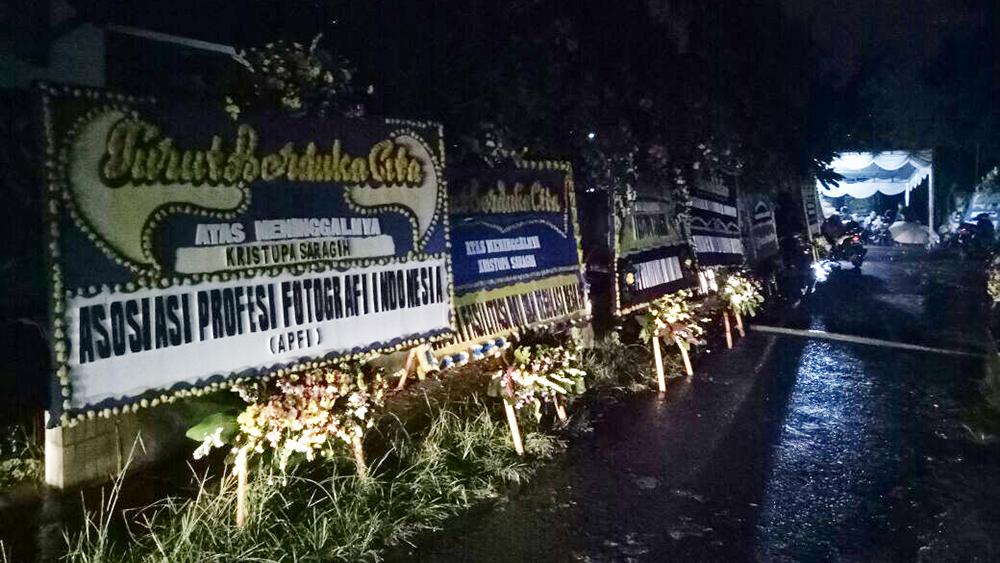 Kristupa saragih RIP meninggal fotografer net4