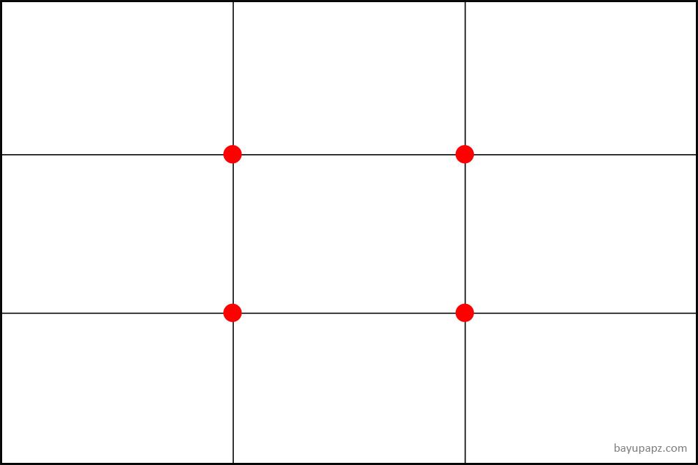 bayupapz komposisi rule of third grid