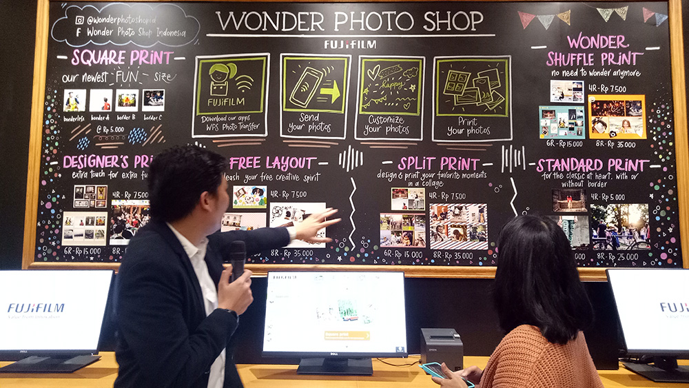 Fujifilm Wonder photo shop indonesia 4