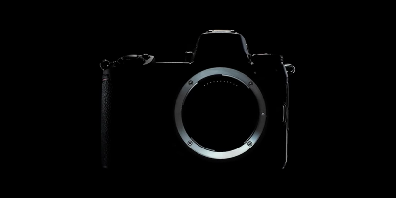 Nikon full frame mirrorless camera